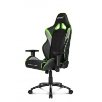 Геймерское кресло Akracing Overture K601O black green
