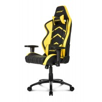 Кресло Akracing Player K601H black yellow