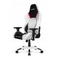 Геймерское кресло Akracing Premium V2 K700T Arctica white black