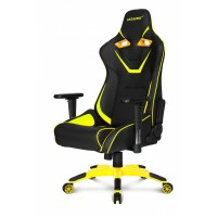 Офисное кресло Akracing ProX CP-BP black yellow