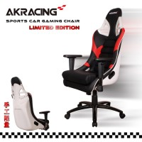 Кресло геймерское Akracing Sport Car GT 911 black white red