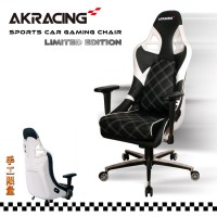 Кресло Akracing Sport Car PS 911 black white